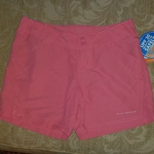 COLUMBIA WOMENS XS CORAL POINT II SHORT NWT